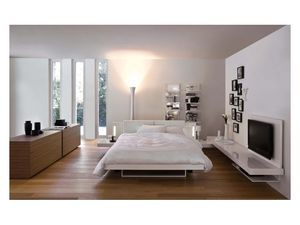 Bay, Design double bed, built-in sound system