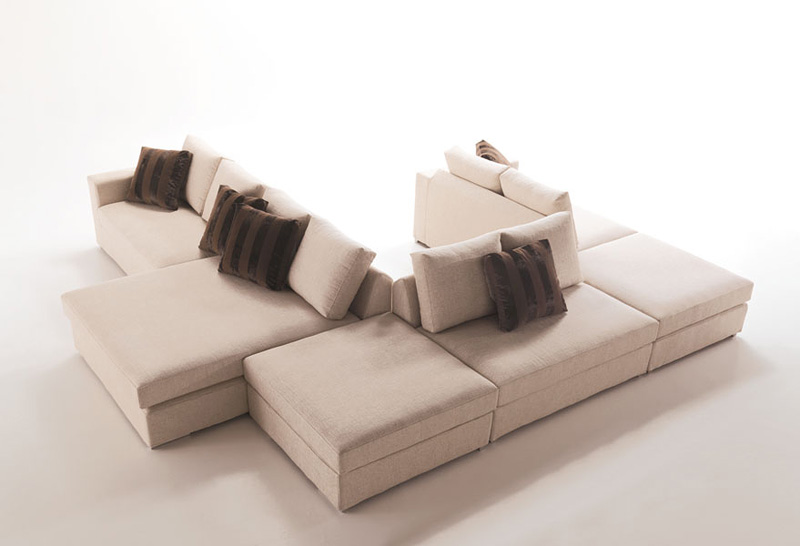 Dile, Modern modular sofa, custom made, for the living room