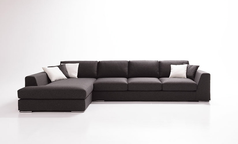 Titanic Sofa with peninsula modular and elegant for living  sc 1 st  IDFdesign : 3 seater couch with chaise - Sectionals, Sofas & Couches
