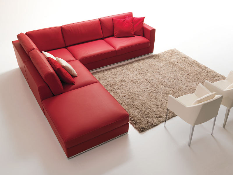 Corner Sofa In Contemporary Stile For Living Room