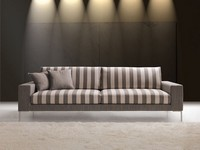 Daytona, Elegant waiting sofa, wide armrest, for Office