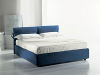 Venere, Bed with storage and adjustable orthopedic net