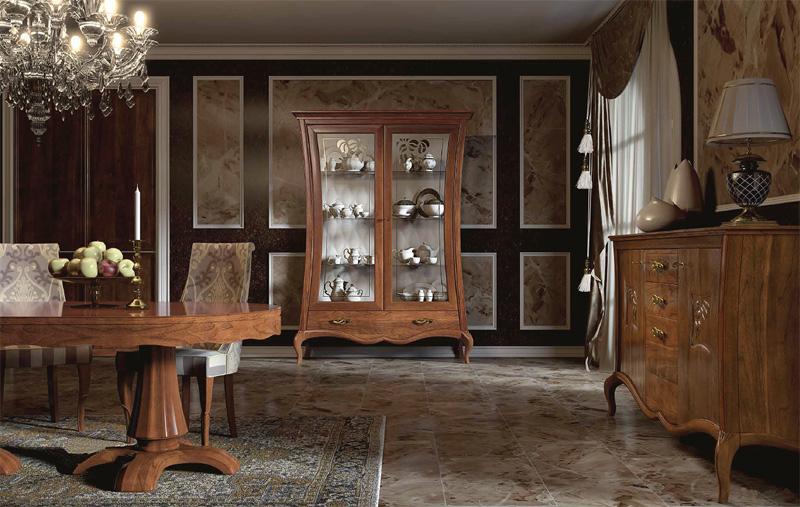 wohnzimmermöbel holz:Showcase Cabinets Dining Room