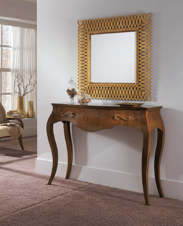 entrance furniture wooden console table console with new