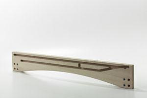SPONDINA, Shore for extendible wooden table