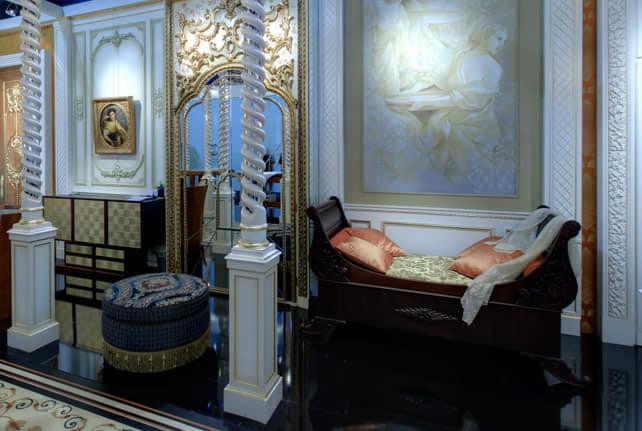 Luxury classic wardrobe handmade decorations for bedrooms furnishing idfdesign - Hideable furniture ...