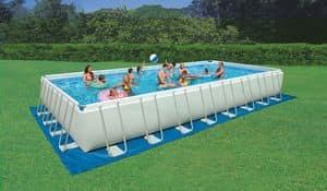above ground pool intex 28372 ground swimming pool rectangular outdoor