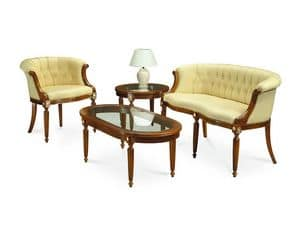 Picture of HILTON armchair 8118A, chair in art nouveau style