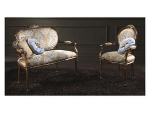 Picture of L'ATELIER PO208, classic style chairs with armrests