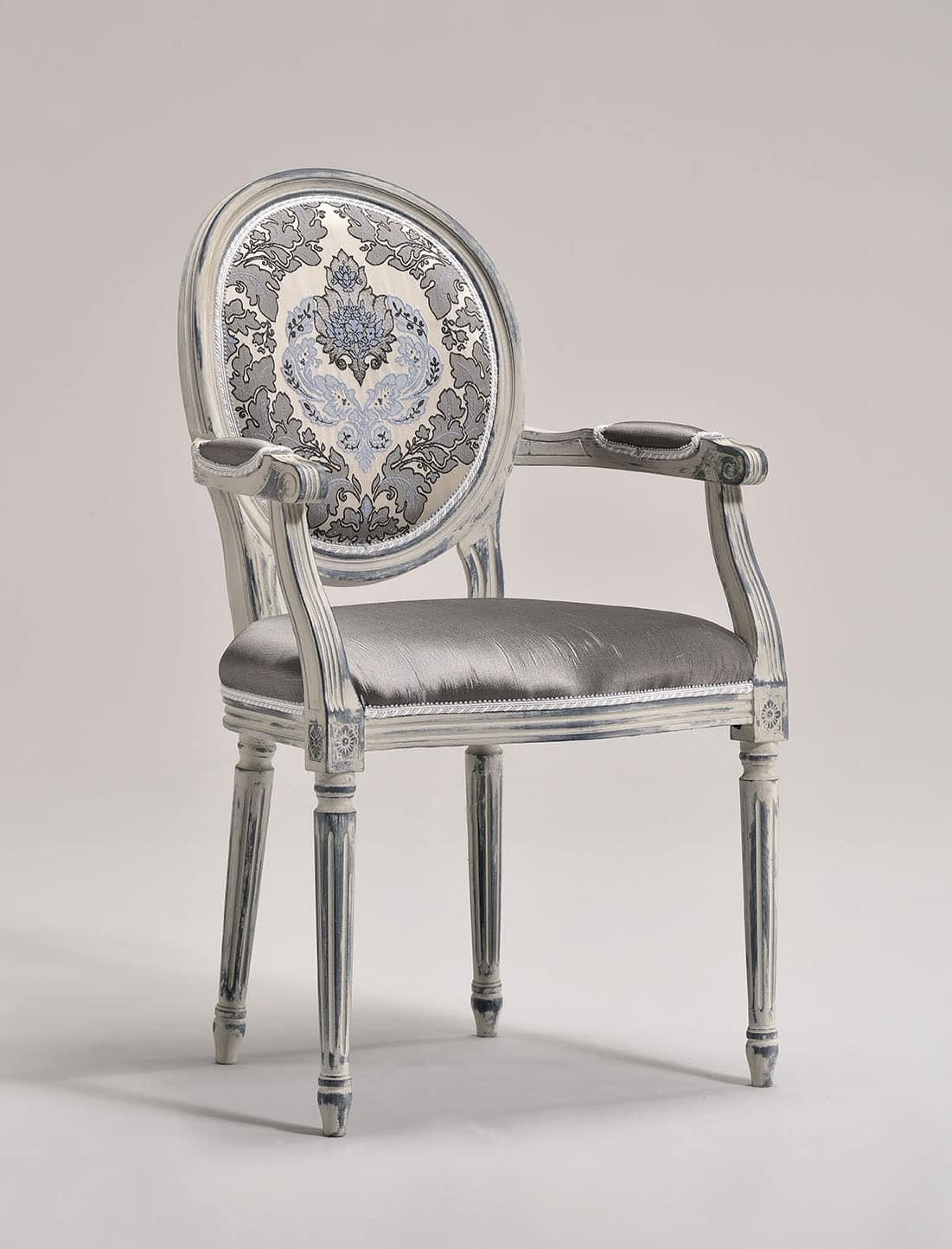 Chair, head of the table, Louis XVI style, customizable | IDFdesign