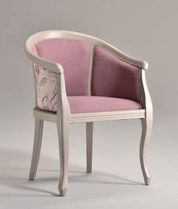 Picture of POZZETTO armchair 8032A, luxury armchair