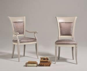 Picture of SIRIA armchair 8523S, chairs with fabric seat