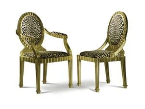 Picture of SOLE armchair 8258A, regal chair