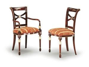 Picture of SILVIA chair 8090S, classic style chair