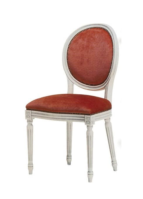 1054, Chair in classic style, for elegant conference room