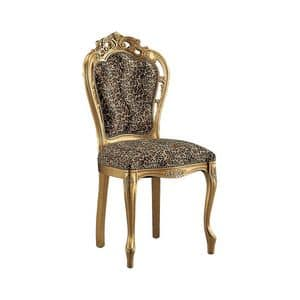 Picture of 1467, dining chair with upholstered seat