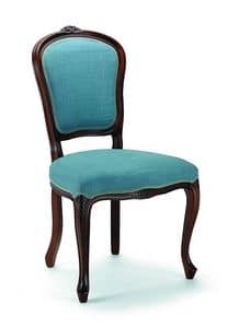 650, Classic style chair for home and restaurants