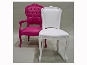 Picture of LOUIS I by SIX-INCH, chairs with padded seat
