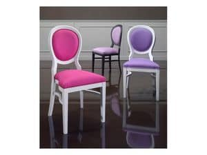 Picture of Tradsitional 0806S, dining chairs with padded seat and back