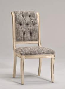 WENDY chair 8286S, Dining chair in beech wood, various fabrics