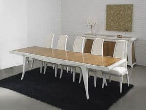 Picture of AFRODITE extendable table 8291T, antique style tables