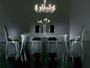 Picture of AFRODITE table 8291T, antique style tables