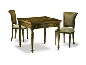 Picture of JOKER table 8074T, solid wood table