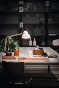 Brando 6pz, Desk accessories set, in regenerated leather