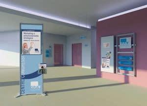 Picture of inUNO floor displays, office furniture