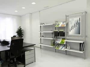 Picture of inUNO modular bookcases and shelves, book units