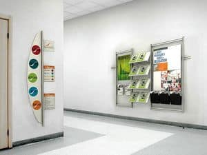 Picture of inUNO wall displays, office complements