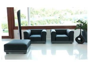 Picture of Asami Indoor armchair, armchairs modern lines