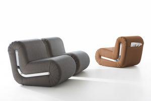 Boomerang, Design armchair, modular