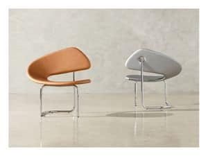 Picture of Wing upholstered, design armchair