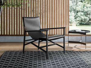 Isotta armchair, Design original armchair with quilted covering