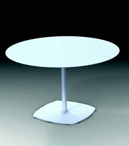 1600 Stylus, Round table with cast iron base