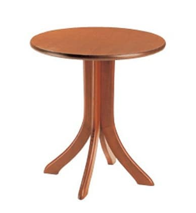 604, Round table for bars and restaurants, with beech base