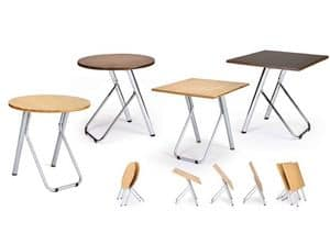 Picture of Clip C 0013, tables with stackable structure