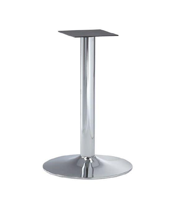 FT 013, Metal chrome base for bar tables