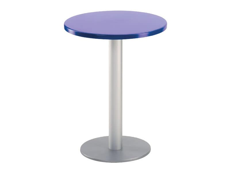 Table Ø 60 cod. 04/BR, Round table for outdoor bar