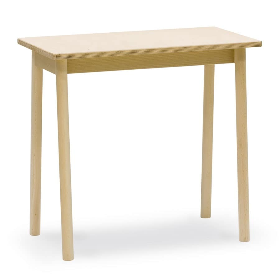 Coffee Table In Beech Wood Ideal For Bars And Taverns Idfdesign