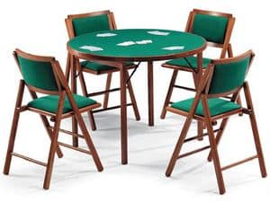 Picture of Gioco 111 table, 105IMB chair, particular small tables