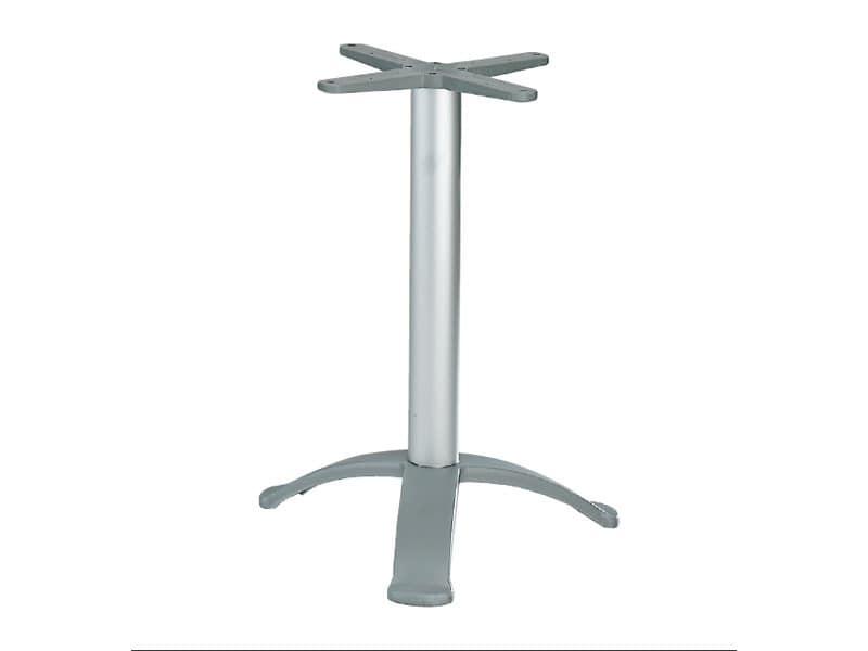 3 ped base cod. BG3K, Table base with 3 feet of aluminum