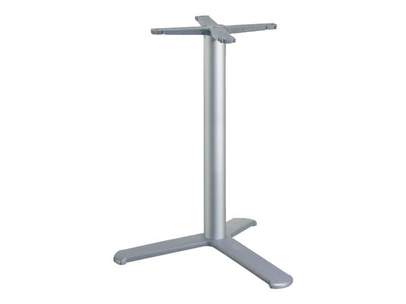 3 ped base h 115 cod. BGA3L, Table base for bars, with aluminum column