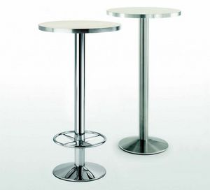 4154R, Metal table base with footrest