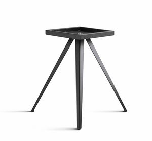 ART. 0099-3 AKY CONTRACT, Design table base, in metal, with 3 legs