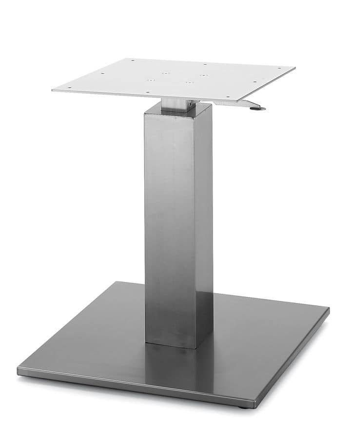 Art.260/GAS, Squared table base with gas lift adjustable height