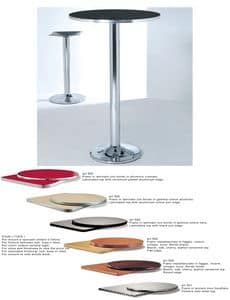 ART. 420, Base made of chromed or painted metal for bar tables