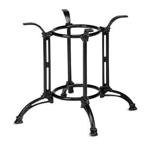 Art.820, Cast iron table base, for domestic and contract use