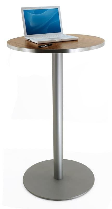 FT 055 + FT 055 H110, Versatile table base for Modern coffee bar